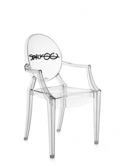 Kartell Louis ghost anniversary special edition Trasparente ...
