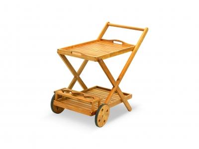 Carrello Portavivande Da Giardino : Q bo carrello portavivande marrone vendita online storedesign